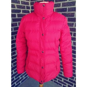 Lands End Down Puffer Jacket M (10-12)